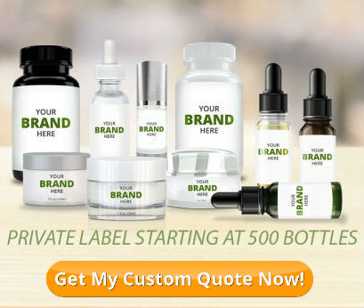 Get a Private Label CBD Product Quote